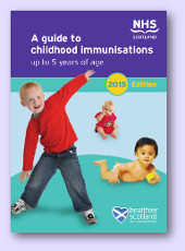 Childhood Immunisation 0-5 leaflet